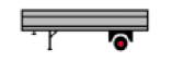 1 Axle Semi-Trailer