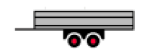 2 Axle Center Trailer