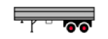 2 Axle Semi-Trailer