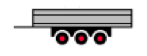 3 Axle Center Trailer