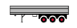 3 Axle Semi-Trailer