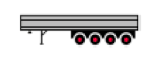 4 Axle Semi-Trailer